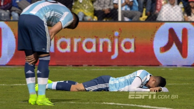 Ao som de tango, derrota da Argentina para a Bolívia abre o 'SportsCenter'