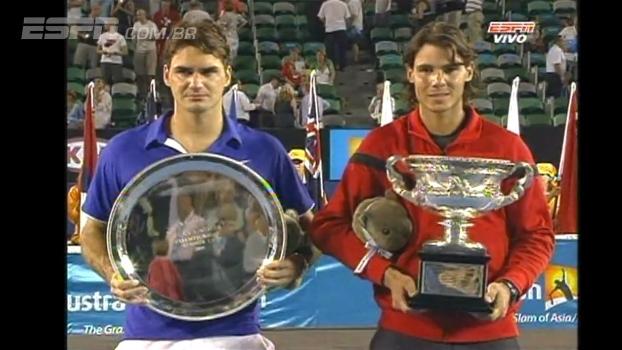 Confira os lances da final entre Federer e Nadal em 2009