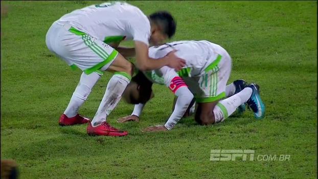 Garantida na Copa, Nigéria empata em casa com lanterna Argélia nas Eliminatórias