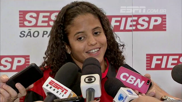 Etiene revela surpresa com resultado e comenta título de pioneira: 'Venho quebrando barreiras'