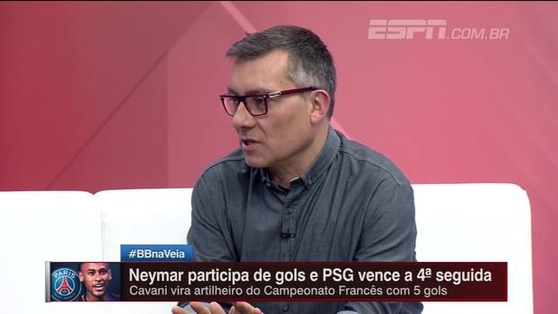 Saint-Étienne se tranca, mas PSG vence com Neymar participando de todos os gols; Calçade analisa