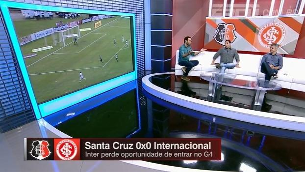 'Time custa a engrenar': Bate-Bola analisa empate do Inter com o Santa Cruz