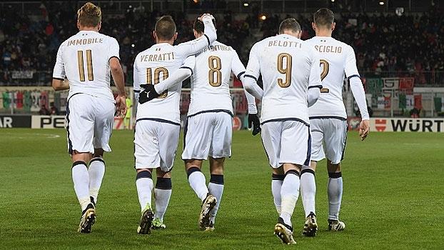 Eliminatórias Europeias: Melhores momentos de Liechtenstein 0 x 4 Itália