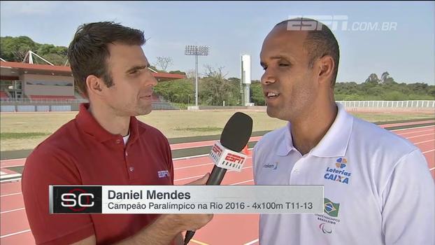 Campeão paralímpico, Daniel Mendes explica sua filosofia: 'Não perder nenhum momento para ser feliz'