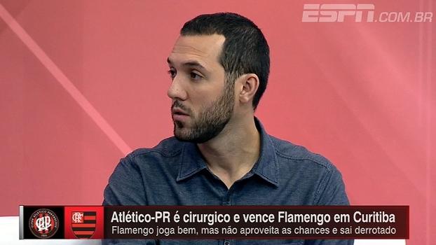 Para Hofman, Flamengo teve a chance de sair vitorioso, mas Atlético-PR foi preciso