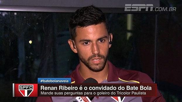Renan Ribeiro defende 'ousadia' em goleiros e destaca dificuldades em tempo de bola em retorno