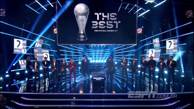 De um a onze: veja a 'seleção do mundo' eleita no prêmio da Fifa