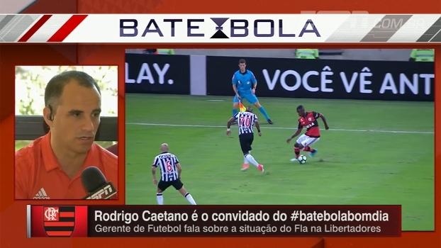 Rodrigo Caetano explica por que Flamengo não renovou com Vinicius Junior por um período mais longo