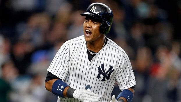 Starlin Castro empata jogo com HR no fim e Yankees conseguem virada espetacular em entrada extra