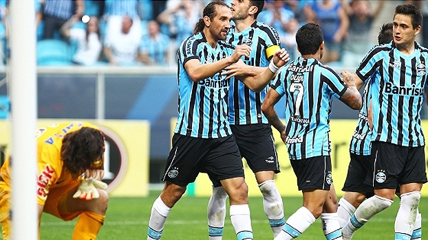 514ad17a98 Brasileiro  Gols de Grêmio 2 x 1 Corinthians - ESPN