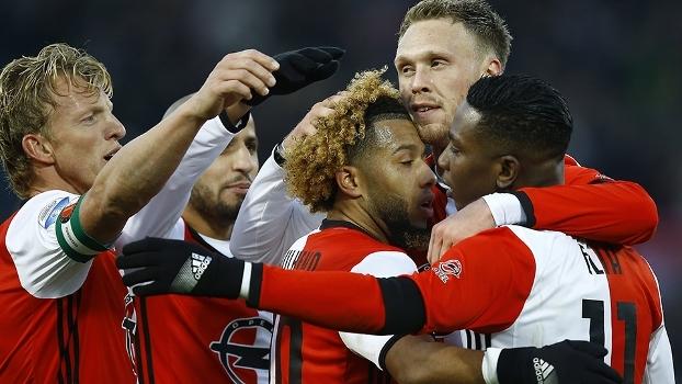 Feyenoord goleia Sparta Rotterdam e pode assumir a liderança do Holandês