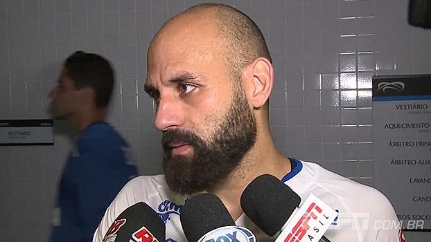 Bruno Rodrigo destaca partida: 'Se alguém tivesse que sair com a vitória, seria o Cruzeiro'