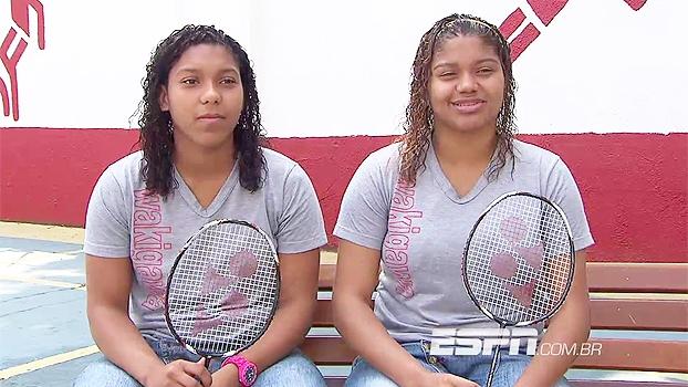 Projeto na zona oeste do Rio incentiva badminton e é berço da melhor dupla feminina do Brasil