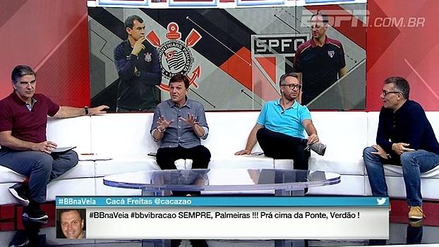 Calçade e Mauro questionam preleções 'emocionantes': 'Quantos times não entram derrubados?'