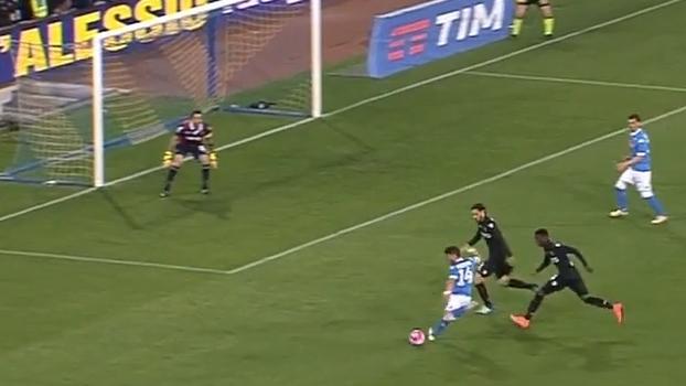 Tempo Real Gol Do Napoli Mertens Invade U00e1rea Dribla