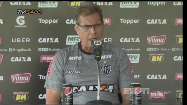 Oswaldo explica 'mistério' antes do clássico contra o Cruzeiro e fala sobre escalação