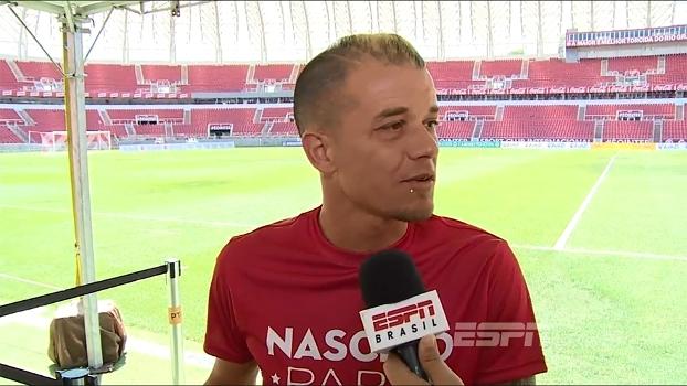D'Alessandro destaca carinho do torcedor do Inter e fala sobre ajuda aos familiares de jogadores da Chape