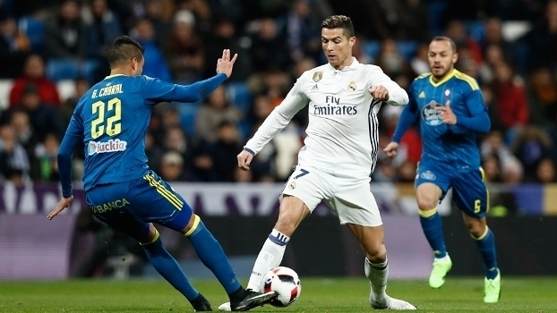 Copa do Rei - quartas de final (ida): Gols de Real Madrid 1 x 2 Celta Vigo