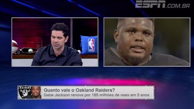 Paulo Antunes questiona alto gasto dos Raiders na linha ofensiva