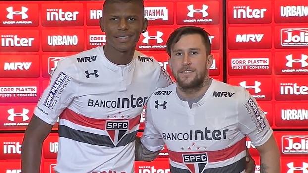 São Paulo apresenta Arboleda e Gomez e mira mais dois reforços; veja a terça-feira tricolor