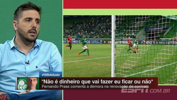 Em meio a discussão sobre goleiros do Palmeiras, Nicola afirma: 'O Weverton já está contratado'