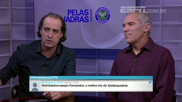 Meligeni se impressiona com humildade e atenção de Roger Federer com imprensa: 'Esse cara não existe'