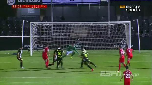 Copa do Rei: Melhores momentos de Cartagena 0 x 3 Sevilla