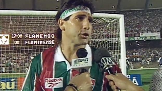 Gol de barriga, 'Sobrenatural de Almeida' e fim de jejum; relembre o histórico Fla-Flu de 1995