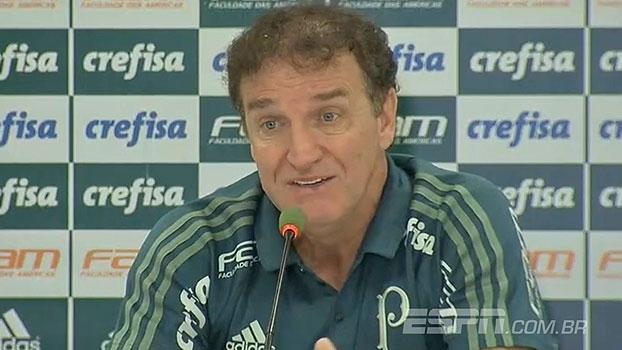 Cuca revela o que falou com jogadores para reação do Palmeiras