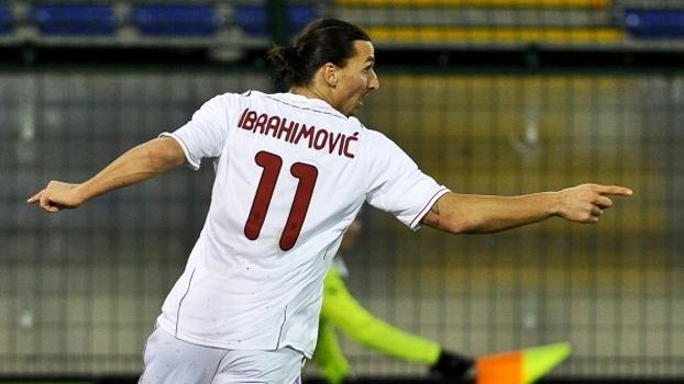 Ibrahimovic deixou o dele e garantiu vitória do Milan sobre o Cagliari em 2011; reveja