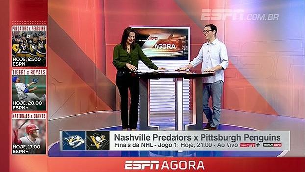'Fogo no gelo': Comentarista de NHL fala da expectativa da inédita final da Stanley Cup