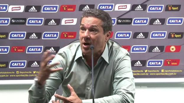 Luxemburgo se diz envergonhado com goleada sofrida e detona 'jogadores que tiveram atuação pífia' no Sport