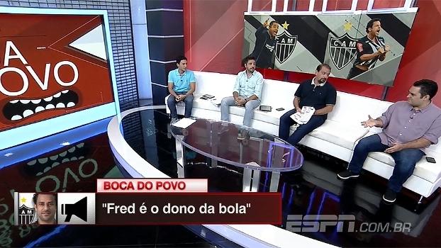 Torcida atleticana se empolga com começo de ano de Fred: 'Dono da bola'
