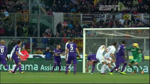 Veja os gols de Fiorentina 2 x 4 Roma
