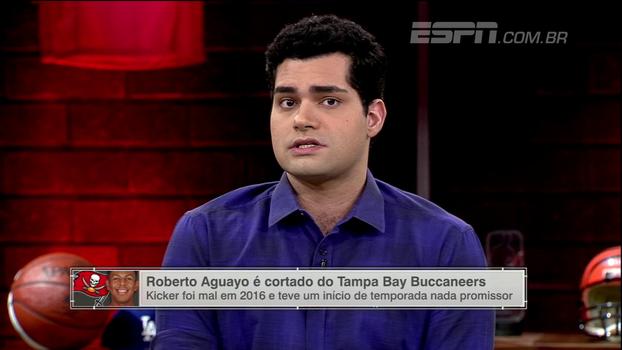 Antony Curti, sobre Roberto Aguayo: 'Não se escolhe um kicker na 2ª rodada do Draft'