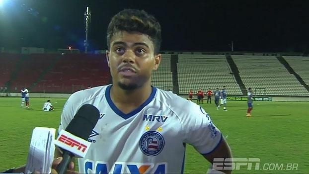 Ex-São Paulo, João Paulo agradece o Bahia: 'Me abriram as portas'