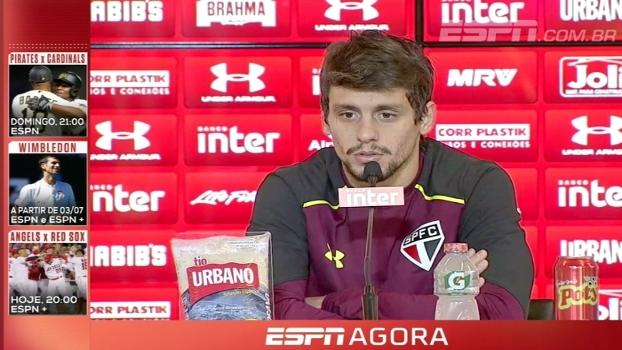 Vai e vem no São Paulo; Rodrigo Caio analisa 'reconstrução' de time no meio do Brasileiro