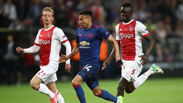 Assista aos melhores momentos da vitória do United sobre o Ajax por 2 a 0