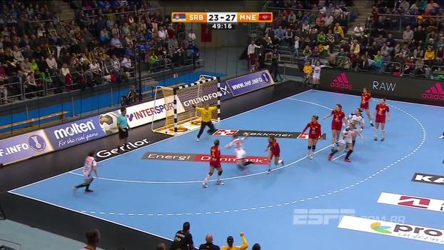 Montenegro vence Sérvia em jogo emocionante e avança às quartas de final do Mundial de handebol feminino
