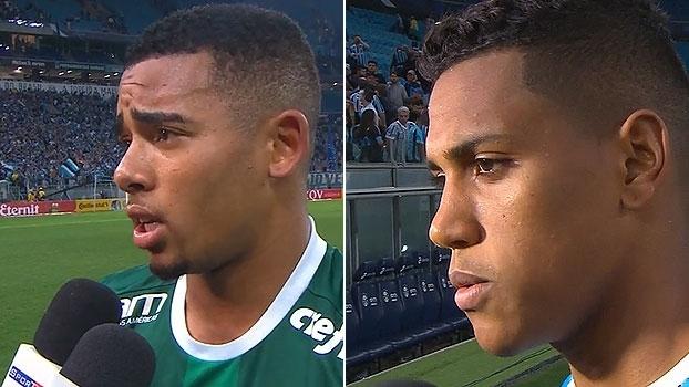 Gabriel Jesus vê Palmeiras vivo em confronto; Pedro Rocha garante: 'Gol foi meu'
