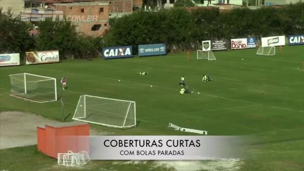 Transição e cobertura: veja treinamento de Jean, goleiro do Bahia que despertou interesse do São Paulo