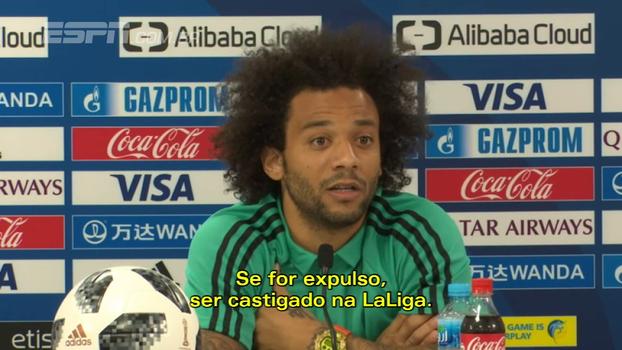 Marcelo critica extensão de suspensões do Mundial para o clássico contra o Barcelona: 'Não acho justo'