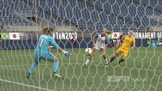 Austrália vence Estados Unidos por 1 a 0 no Torneio das Nações