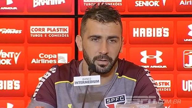 Pratto comemora início no São Paulo e revela facilidade para entrosamento com grupo