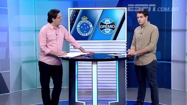 Brasileirão ESPN analisa 'jogaço' entre Cruzeiro e Grêmio