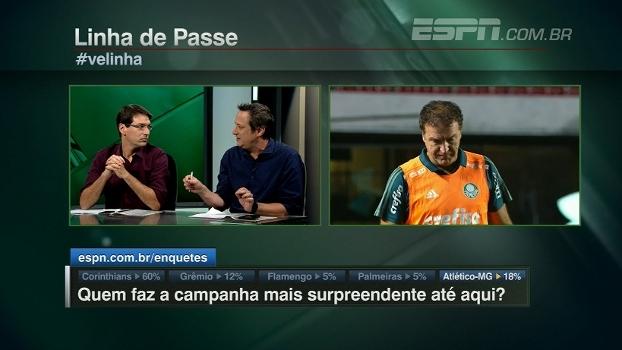 Gian aponta 'ligeira evolução' no Palmeiras desde a chegada de Cuca