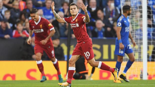Caneta, assistência e golaço de falta: Coutinho brilha na vitória do Liverpool