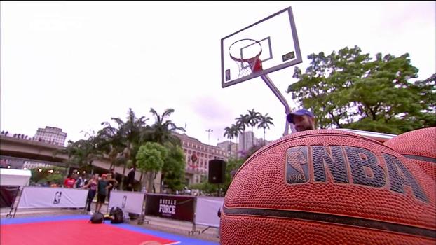Tênis personalizados, 3x3 de basquete e batalhas de rimas: em SP, marca esportiva organiza evento aberto ao público