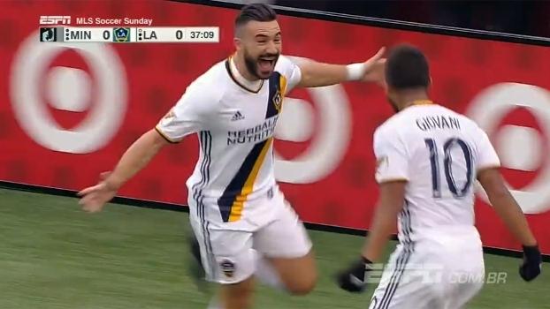 Assista aos gols da vitória do LA Galaxy sobre o Minnesota United por 2 a 1