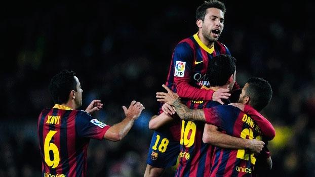 Copa do Rei (semifinal - ida): Melhores momentos de Barcelona 2 x 0 Real Sociedad